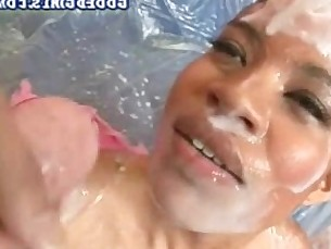 cumshot,facial,latina,interracial,blowjob