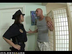 anal,brunette,uniform,big tits,big ass