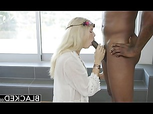 blonde,interracial,blowjob,riding,doggy style